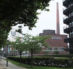 Becks Brewery (radio53) Tags: beer brewery pils becks bremen germany weser hanseatic fuji x10