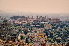 Bergamo (alewauk) Tags: bergamo sonya7 samyang14mm italy nature city landscape sepia