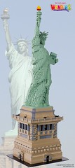 LEGO Statue of Liberty (TheBrickMan) Tags: lego statue liberty new york wonders world