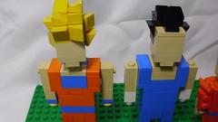 Gokú & Vegeta (andresignatius) Tags: lego miniland moc dragonball goku vegeta krillin