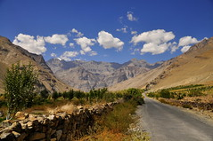 The Road to Nowhere (mala singh) Tags: road autumn india mountains himachal himalayas spiti