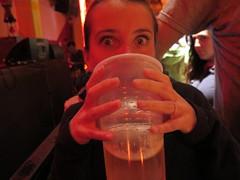 """Ici le verre de bière c'est 1 litre ! <a style=""""margin-left:10px; font-size:0.8em;"""" href=""""http://www.flickr.com/photos/83080376@N03/18471143595/"""" target=""""_blank"""">@flickr</a>"""