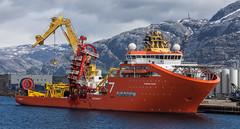 A subsea worker (Per-Karlsson) Tags: water port harbour crane offshore vessel helgeland sandnessjoen moored subsea solstad canoneos6d mpsv offshorevessel subseaconstructionvessel offshorenorway