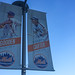 Dwight Gooden / Gary Carty Banner at CitiField - NYC