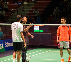 MS - QF - Lee Chong Wei vs Rajiv Ouseph - Coin Toss (KW0326) Tags: county new york england college island gold us suffolk community long open grand prix lee malaysia ms brentwood wei chong badminton rajiv qf bwf 2015 ouseph usopen2015yonexusopen