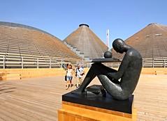 Expo 2015 Milano (klausbergheimer) Tags: milan statue expo milano international exposition knowledge pavilion statua zero mimmo paladino 2015 conoscenza padiglione