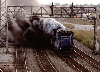 CR C40-8 6027 wb CP369 Rochester