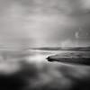 Österlen morning (c e d e r) Tags: ocean sea sky blackandwhite beach monochrome river skåne sweden m blackdiamond österlen ceder julaboda