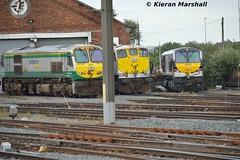 229, 083 and 8209 at Connolly, 18/7/15 (hurricanemk1c) Tags: dublin irish train gm rail railway trains railways irishrail 201 generalmotors 229 2015 emd 083 connolly 071 iarnród 8209 éireann iarnródéireann