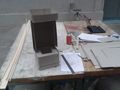 First cardboard volume design