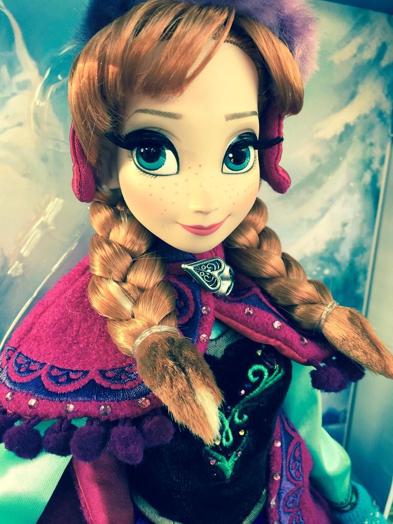 Anna Snow Limited Edition Disney Dolls Fan Tags Anna Hot Girl Frozen Doll