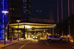 Gothia Towers (rotabaga) Tags: gteborg pentax sweden gothenburg nightlight sverige k5 nattljus
