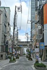 hamamatsu146 (tanayan) Tags: road street urban japan town alley nikon cityscape 日本 shizuoka j1 hamamatsu 浜松 静岡