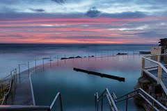 Bronte colour bomb || Sydney (David Marriott - Sydney) Tags: bronte newsouthwales australia au ocean pool sydney dawn sunrise long exposure wide angle