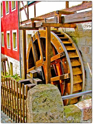 Schmilka - Mühlenrad