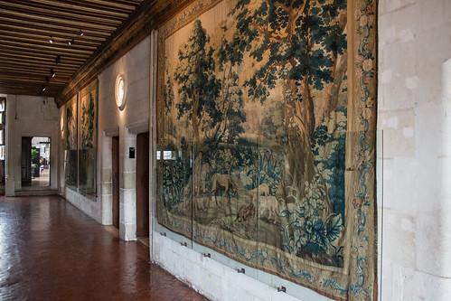 Vestibule du 1er étage Château de Chenonceau