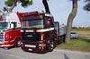 Scania R (Andrea the sleeper) Tags: r500 5620 r730 r460 holland style raduno truck paintjob team aquila rapace super la matassina veneto express seguro intercooler spiaggia del faro jesolo