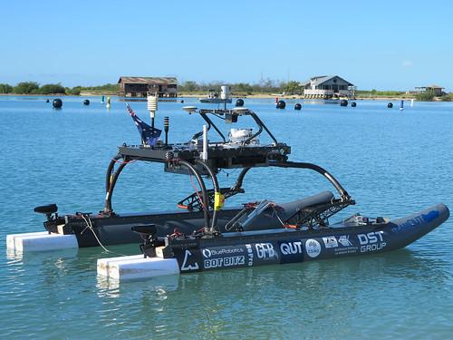 Maritime RobotX - TeamQUT (Credit: Peter Kujala)