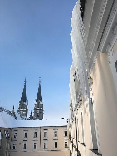 Stift Admont - Eiszapfen