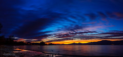 Sky of Christmas (Switzerland) (christian.rey) Tags: estavayerlelac fribourg suisse ch sunset couher soleil lacdeneuchâtel lake neuchâtel paysage landscape corbière plage beach sony alpha 77 1650 panorma