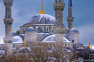 Snowy Sultanahmet Istanbul