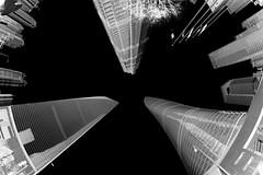 Shanghai - The Stars... (cnmark) Tags: china shanghai pudong lujiazui world financial center swfc jin mao shanghaicenter modern architecture skyscraper tall supertall building towers gebäude 金茂大厦 上海环球金融中心 上海中心大厦 中国 上海 浦东 陆家嘴 摩天大楼 wolkenkratzer gratteciel grattacielo rascacielo arranhacéu construction gensler black white bw schwaryweiss city cityscape sky ©allrightsreserved