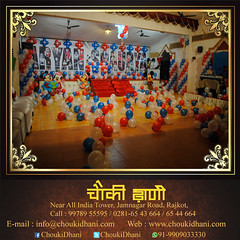 Birthday Party | Kid's Party | Celebration (ChoukiDhani) Tags: arrange kids party birthday theme resort motel hotel restaurant decoration scrumptious food lunch celebration affordable nightparty dinner traditional village