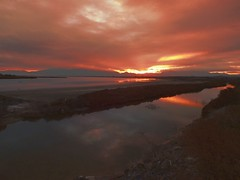 DSCF1374 (evangelosgeraridis) Tags: salt marsh kitros firstupload fuji hs 25 exr hellas greece macedonia makedonija pieria alykes ελλάδα μακεδονία πιερία κίτροσ αλυκέσ ηλιοβασίλεμα