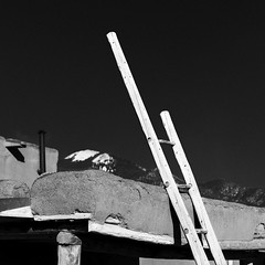 Taos Pueblo No. 23 (Mabry Campbell) Tags: 2016 december h5d50c hasselblad mabrycampbell newmexico santafe taos taospueblo usa unitedstatesofamerica adobe architecture blackandwhite building commercialphotography fineart fineartphotography historic image nativeamerican old photo photograph photographer photography pueblo squarecrop f71 december102016 20161210campbellh6a8491 50mm ¹⁄₁₂₅sec 100 ef50mmf12lusm fav10 fav20