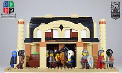 Salusian Stables (Cuahchic) Tags: lego foitsop landsofroawia loreos horses skuda skudae oriental stables stud mongols