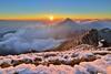 合歡山~日落雲海雪景~  Snow Sunset (Shang-fu Dai) Tags: 台灣 taiwan 合歡山 主峰 3416m 雲海 clouds sunset mthehuan nikon d600 夕陽 landscape af20mmf28d formosa 南投 仁愛鄉 風景 戶外 snow 雪景 雪