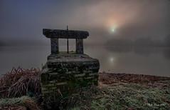 Brume d'hiver ... (Prx.01) Tags: étang thou hiver brume brouillard leverdesoleil sunrise waterscape landscape paysage fuji xm1 1024mm