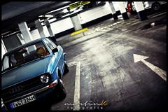 Audi 80 B I (Krueger_Martin) Tags: berlin car auto tiefgarage garage carhouse parken parking audi b80 audi80b canoneos5dmarkii canoneos5dmark2 50mm canonef50mmf14usm festbrennweite primelense hdr photomatix blau blue city stadt urban