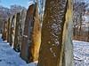 Obelix was here.... (diarnst) Tags: outdoor steine stones skulpturen sculptures wuppertal nordpark winter panasonic kunst art