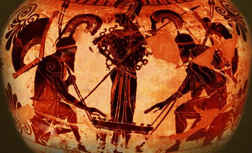 "Petteia - Ludus Latrunculorum  / Iconografía de las civilizaciones helenolatinas • <a style=""font-size:0.8em;"" href=""http://www.flickr.com/photos/30735181@N00/32481384886/"" target=""_blank"">View on Flickr</a>"