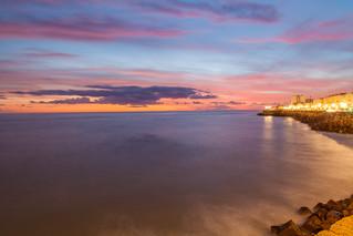 Inspiring sunset in Cádiz