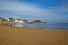 Strolling along the beach at Viking Bay, Broadstairs (favmark1) Tags: broadstairs vikingbay winter beach