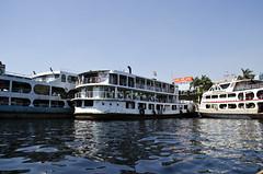 Sadarghat Ferries (William J H Leonard) Tags: city travel urban travelling water river asian boats boat asia day transport sunny dhaka bangladesh sadarghat southasia southasian bangladeshi olddhaka travelphotography bangladeshis purandhaka dhakadivision bariganga
