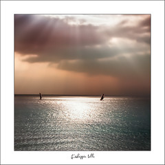 Nostalgie (sylvain.bernardin) Tags: longexposure sun seascape landscape nikon normandie lh paysage normandy lehavre seinemaritime poselongue sylvainbernardin