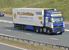 Y3 MJG (Cammies Transport Photography) Tags: road park truck volvo mj transport lorry ltd carlisle fh m6 flyover griffiths y3 mjg y3mjg