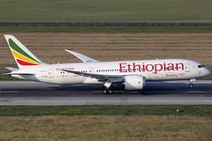 Ethiopian Airlines Boeing 787-8 ET-AOV (c/n 34750) Lifting off for an inner-European hop to Stockholm (Manfred Saitz) Tags: vienna austria airport boeing airlines vie ethiopian 787 schwechat loww b788 etreg etaov