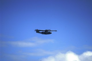 Catalina Seaplane over Nigg & Cromarty