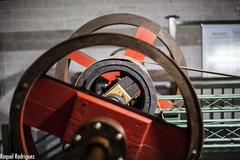MUMI (Asturias) (Dinacast) Tags: rojo madera asturias mina rueda mumi crculo mquina engranaje museominero