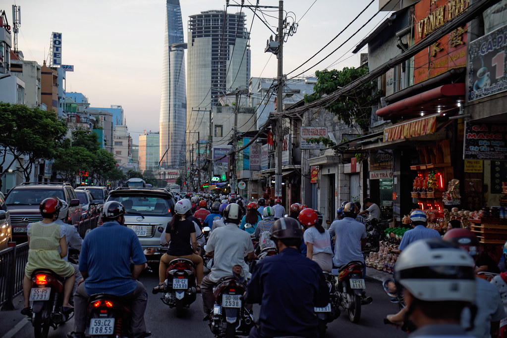 HCMC's traffic, Vietnam by Charlievdb, on Flickr
