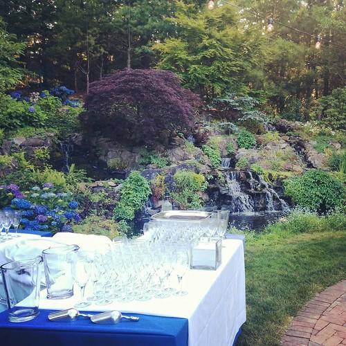 #waterfallbar #hamptons #letsgetthispartystarted #bluesteelny