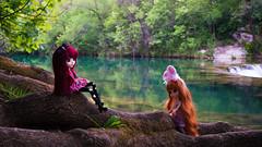 Cascade~ (MintyP.) Tags: 6 pose ana doll sony groove pullip fc merl nex poupées longue obitsu mintypullip elwyna