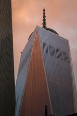 IMG_1479 (kz1000ps) Tags: nyc newyorkcity pink sunset sky orange tower architecture clouds one 1 cityscape manhattan worldtradecenter urbanism goldenhour freedomtower