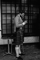 DSC_5530 (jamie reilly) Tags: pub kilt streetphotography scottish cobbles tartan