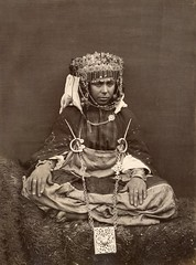 Woman of the Awlad Nail tribe, Biskra, Algeria, c 1880 (Benbouzid) Tags: dance nail saada bou biskra danceuse ouled nayel djelfa mesaad