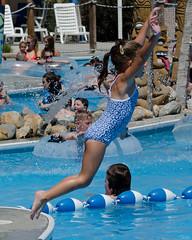 Cowabinga Bay 2015 (Howard Metz Photography) Tags: water pool girl child swimmingpool amusementpark poolside